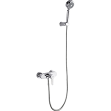 Single handle wall mounted shower mixer