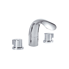 3-pc widespread lavatory faucet